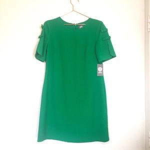 Vince camuto midi dress with bow sleeves 6